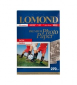 Бумага Lomond Premium Photo Satin (10х15см) 270 г/м2 1-стор. матовая фотобумага 20л.